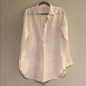 GAP linen long sleeve tunic